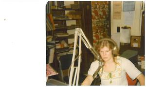 During my DJ days at WMLO in Danvers, MA