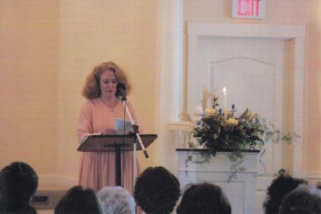 Catherine in 2001