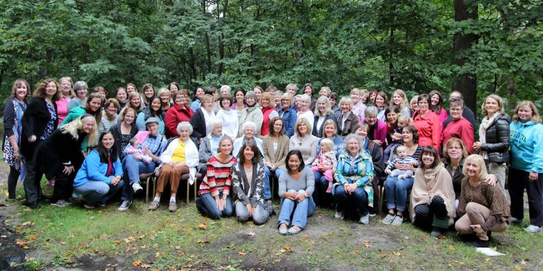 Fall Retreat - group shot